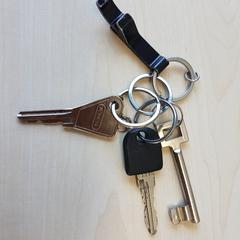 sleutels, ako bolo nahlásené Connexxion Haarlem IJmond pomocou iLost