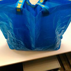 IKEA tas met kleding, as reported by Vrije Universiteit Amsterdam using iLost