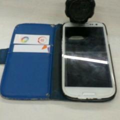 Samsung TELEFOON en een horloge, as reported by Gemeente Wageningen using iLost