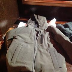 Donkergroene jas, zoals gemeld door De Heeren van Aemstel met iLost