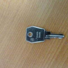 Sleutel euro lock, zoals gemeld door Connexxion Hoekse Waard / Goeree Overflakkee met iLost