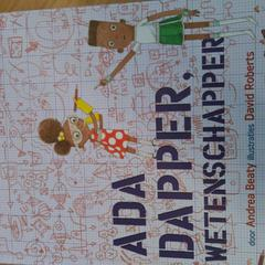 boek 'Ada dapper, wetenschapper', zoals gemeld door Bibliotheek Utrecht met iLost