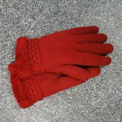 Rode handschoenen, zoals gemeld door Connexxion Hoekse Waard / Goeree Overflakkee met iLost