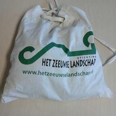 Linnen tas met sportspullen, zoals gemeld door Connexxion Zeeland met iLost