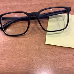 Zwarte bril, zoals gemeld door Gemeente Amsterdam met iLost