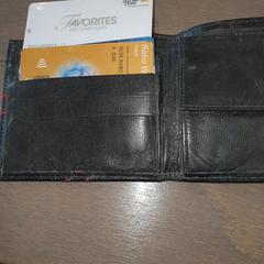 Portemonnee, zgłoszono przez RAI Amsterdam przy użyciu iLost
