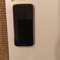 iPhone Motorola met beige hoesje, as reported by Gemeente Hilversum using iLost