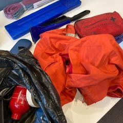 Zak met allerhande autospullen, zoals gemeld door Gemeente Weert met iLost