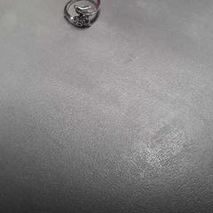 Ring zilverkleurig, zoals gemeld door Arriva Friesland / Groningen met iLost