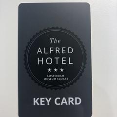 Hotelpas - The Alfred Hotel, zoals gemeld door Awakenings ADE – Warehouse Elementenstraat 2019 met iLost
