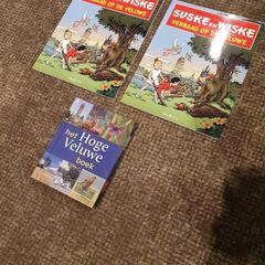 Suske en wiske boeken/ park de hoge veluwe boek, zoals gemeld door Van der Valk Hotel Apeldoorn - De Cantharel met iLost