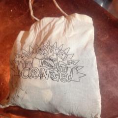 Witte stoffen tas, zoals gemeld door De Heeren van Aemstel met iLost
