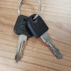 2 sleutels, zoals gemeld door Connexxion Amstelland-Meerlanden Schiphol Zuid met iLost