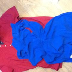 Red polo and blue dress, zoals gemeld door Grand Hotel Amrâth Amsterdam met iLost