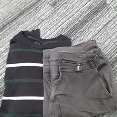 Herenkleding, trui + korte broek, as reported by Arriva Vechtdallijnen using iLost