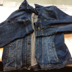 Jeans jacket, as reported by Van Gogh Museum using iLost
