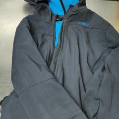 Donkerblauwe softshell, zoals gemeld door De Heeren van Aemstel met iLost