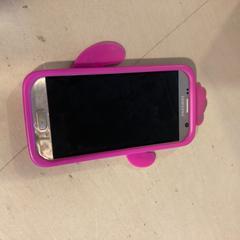 Samsung telefoon hoesje roze cactus, zoals gemeld door Hortus Botanicus Amsterdam met iLost