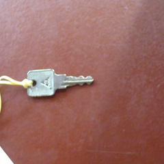 Sleutel, gemeldet von Apenheul über iLost