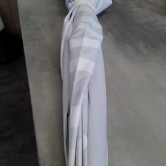 Paraplu blauw/wit, zoals gemeld door Arriva Friesland / Groningen met iLost