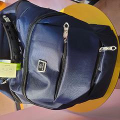 Backpack Meijieluo, conforme relatado por MEININGER Hotel Bruxelles Gare du Midi usando o iLost