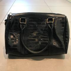 Sac noir croco, as reported by MEININGER Hotel Lyon Centre Berthelot using iLost