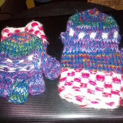 gebreide handschoenen, as reported by Paaspop using iLost