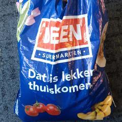 Plastick Draagtas Deen, zoals gemeld door Connexxion Noord Holland Noord Alkmaar met iLost