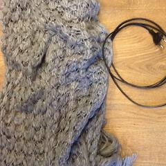 Scarf and charger, as reported by Grand Hotel Amrâth Amsterdam using iLost