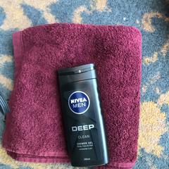 Handdoek en shower gel, zoals gemeld door Van der Valk Hotel Veenendaal met iLost