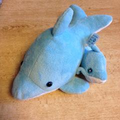 Pluche dolfijn, as reported by Dolfinarium using iLost