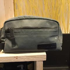 Calvin klein tiolet bag, as reported by Conscious Hotel Museum Square using iLost