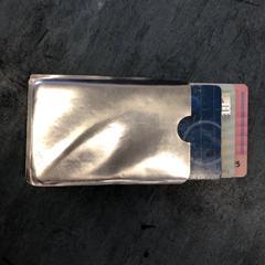Zilveren pashouder, zoals gemeld door Drumcode Festival 2019 met iLost