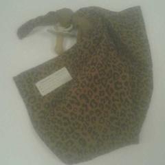 Speen met luipaardprint doek, zoals gemeld door Diergaarde Blijdorp met iLost