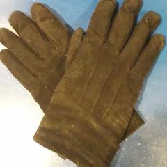 Zwarte leer/suede Hema handschoenen, zoals gemeld door TivoliVredenburg met iLost