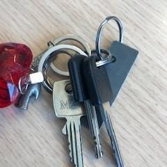 sleutels, zoals gemeld door EBS OV Den Haag met iLost