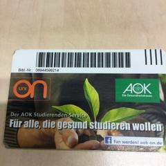 Studierendenausweis, as reported by Haaglanden Medisch Centrum using iLost