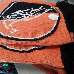 Sjaal oranje/zwart, gemeldet von Arriva Friesland / Groningen über iLost