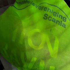 Rugtas groen, zoals gemeld door Arriva Friesland / Groningen met iLost