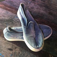 Schoenen, zoals gemeld door Woodstock '69 met iLost