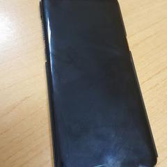 Samsung S8+ in zwarte cover, zoals gemeld door Connexxion Overijssel/Flevoland-IJsselmond met iLost