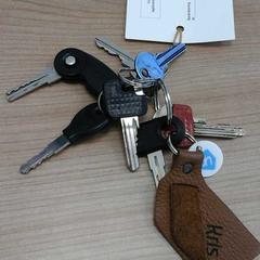 sleutelbos, zoals gemeld door Connexxion Haarlem AML met iLost