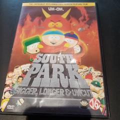 DVD Southpark Bigger Longer Uncut, zoals gemeld door Conscious Hotel Westerpark met iLost