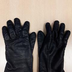 Handschoenen zwart lederlook, as reported by Arriva Vechtdallijnen using iLost